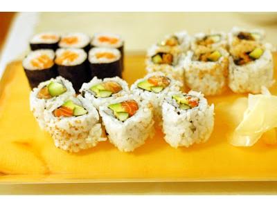 LUNCH SUSHI COMBO B ( choose 3 items)