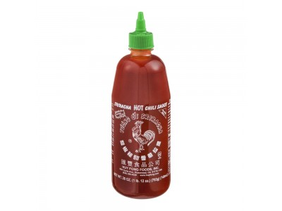 Huy Fong Sriracha Hot Chili Sauce, 28 oz Large Bottle